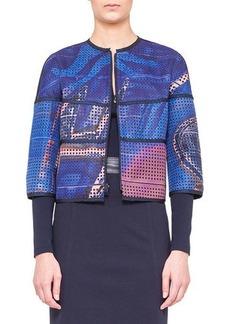 Akris punto Reversible Printed Jacket