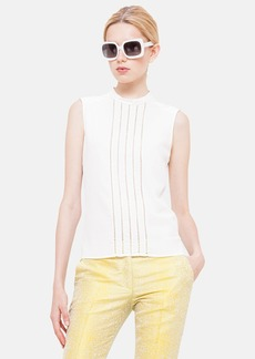 Akris punto Sleeveless Silk Blouse
