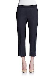 Akris Punto Stretch Cotton Capri Pants