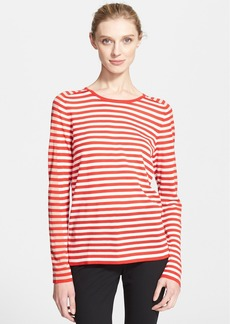Akris punto Stripe Knit Sweater