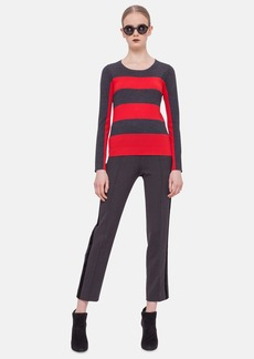 Akris punto Stripe Wool Sweater
