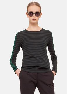 Akris punto Stripe Wool Sweater