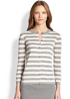 Akris Punto Striped Knit Cardigan