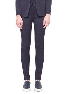 Akris punto Tech Jacquard Flat-Front Trousers