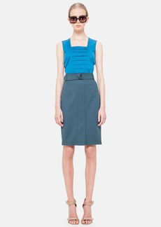 Akris punto Techno Cotton Pencil Skirt
