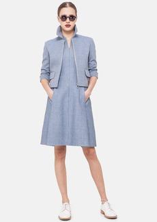 Akris punto Textured Cotton Blend Jacket