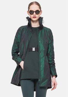 Akris punto Textured Techno Peplum Jacket
