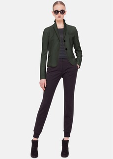 Akris punto Two-Button Wool & Angora Jacket