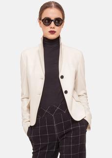 Akris punto Two-Button Wool & Angora Jacket