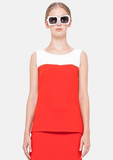 Akris punto Two-Tone High/Low Tank