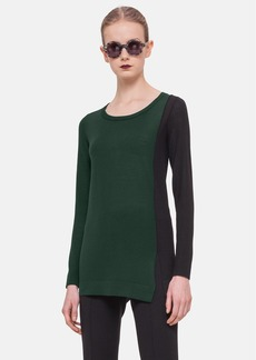 Akris punto Two Tone Wool Sweater