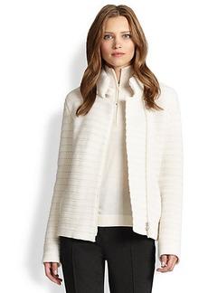 Akris Punto Wool & Cashmere Knit Jacket