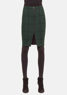 Akris punto Wool Blend Pencil Skirt