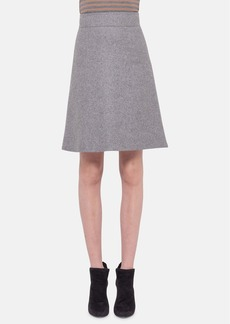 Akris punto Wool Blend Skirt