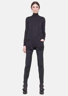 Akris punto Wool Mock Neck Sweater