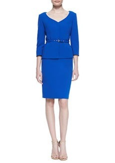Albert Nipon 3/4-Sleeve Skirt Suit