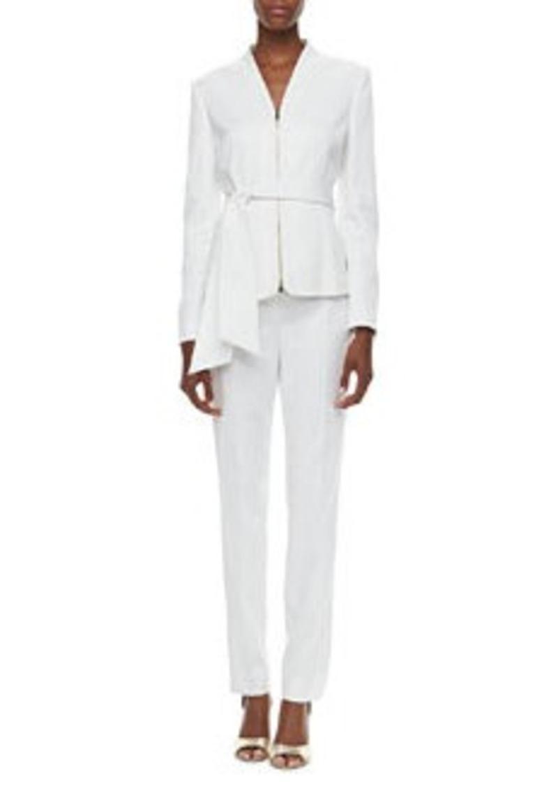 Albert Nipon Crepe Two-Piece Suit