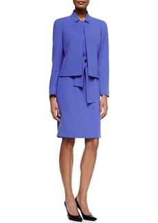 Albert Nipon Long-Sleeve Jacket & Sheath Dress