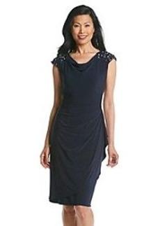 Alex Evenings® Beaded Cocktail Dress