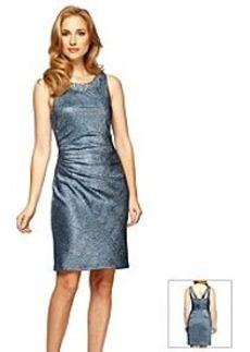 Alex Evenings® Beaded Necklace Dress