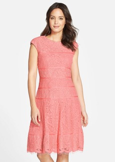Alex Evenings Cap Sleeve Fit & Flare Dress