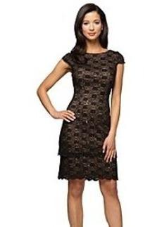 Alex Evenings® Cap Sleeve Tiered Shift Dress