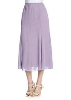 Alex Evenings® Chiffon Overlay Tea Length Skirt