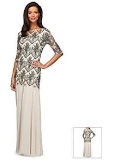 Alex Evenings® Drop Waist Gown