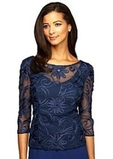 Alex Evenings® Embroiderd Blouse