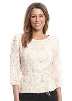 Alex Evenings® Floral Sequin Blouse