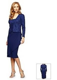 Alex Evenings® Jacket Cocktail Dress