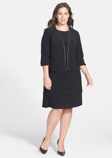 Alex Evenings Jacket Dress (Plus Size)