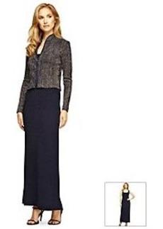 Alex Evenings® Jacket Sparkle Maxi Dress