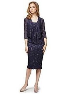 Alex Evenings® Lace Cocktail Dress