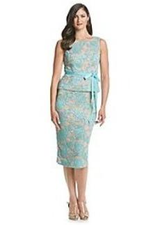 Alex Evenings® Lace Peplum Dress