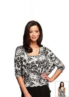 Alex Evenings® Printed Twinset With Batwing Sleeve