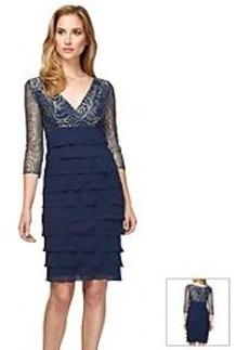 Alex Evenings® Ruffle Cocktail Dress