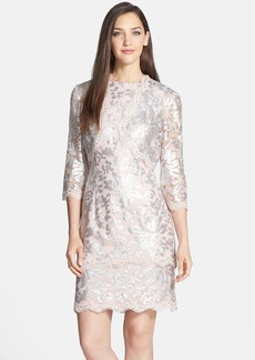 Alex Evenings Sequin Lace Dress & Bolero
