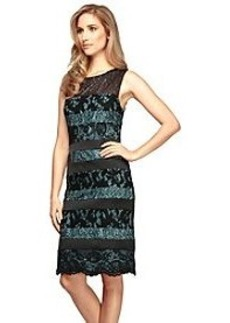 Alex Evenings® Striped Lace Dress