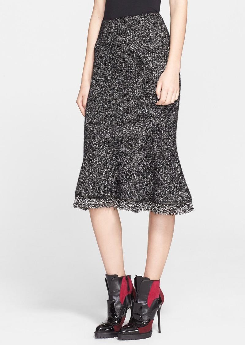 alexander mcqueen alexander mcqueen fishtail knit skirt skirts shop it to me. Black Bedroom Furniture Sets. Home Design Ideas