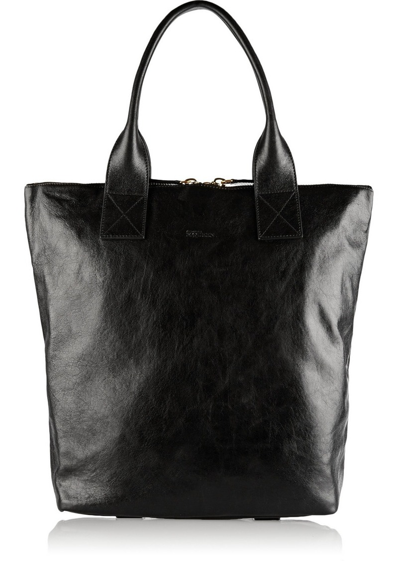 alexander mcqueen alexander mcqueen north south leather tote handbags shop it to me. Black Bedroom Furniture Sets. Home Design Ideas