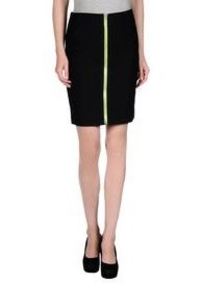 wang wang knee length skirt skirts