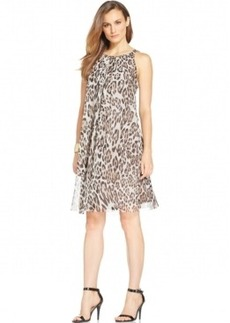 Alfani Animal-Print A-Line Shift Dress