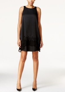 Alfani Prima Applique-Hem Shift Dress, Only at Macy's