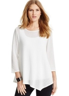 Alfani Asymmetrical Knit Tunic, Only at Macy's