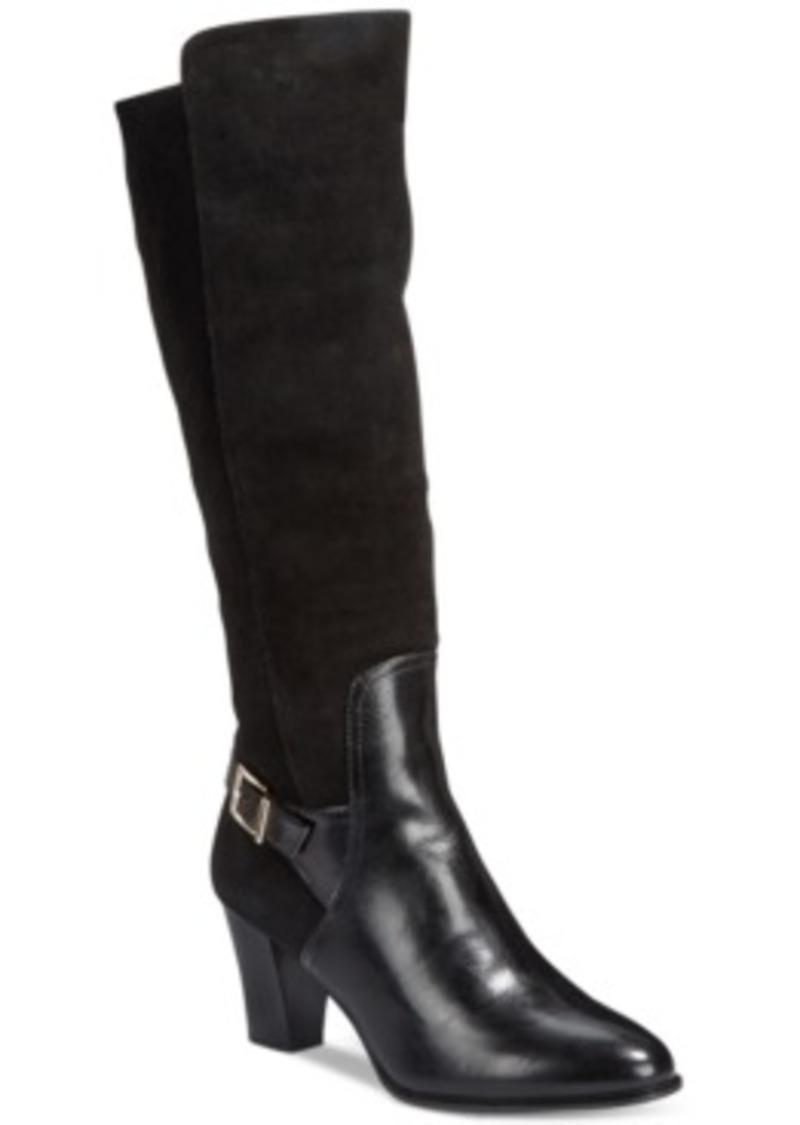 Creative Alfani Women39s Jaymee Tall Shaft Dress Boots  Shoes  Macy39s
