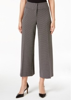 Alfani Check-Print Culottes, Only at Macy's