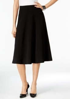 Alfani Crepe A-Line Skirt, Only at Macy's