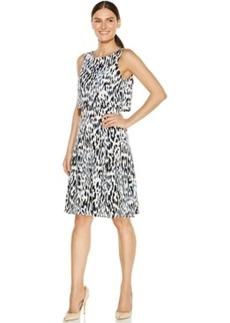 Alfani Crop-Top Printed Dress