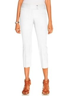 Alfani Cropped Straight-Leg Pants